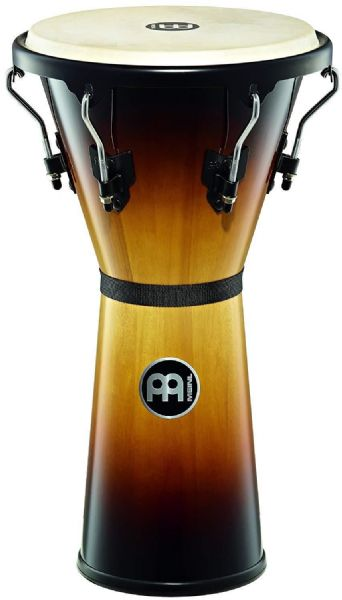 Meinl Percussion 12 1/2 inch Headliner Series Wood Djembe - Sunburst - HDJ500VSB